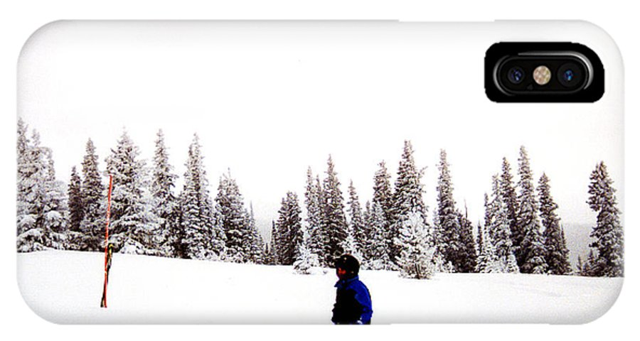 Clay IPhone X Case featuring the photograph Continental Divide January 1 2000 by Clayton Bruster