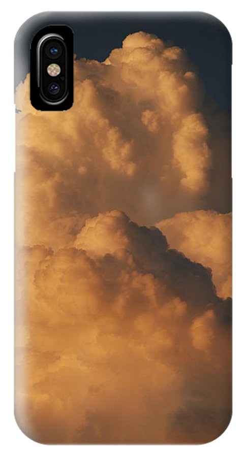 Clouds IPhone X Case featuring the photograph Coppermouth by Rob Hans