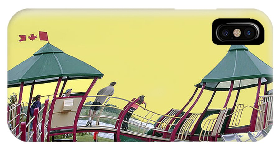 Playground IPhone Case featuring the photograph Cornwall Play by Jacqueline Milner