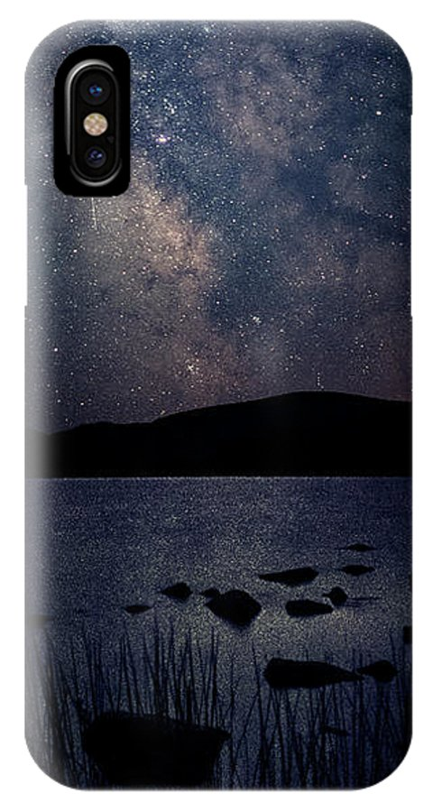 Maine IPhone X Case featuring the photograph Cosmic Fantasy by Robert Fawcett