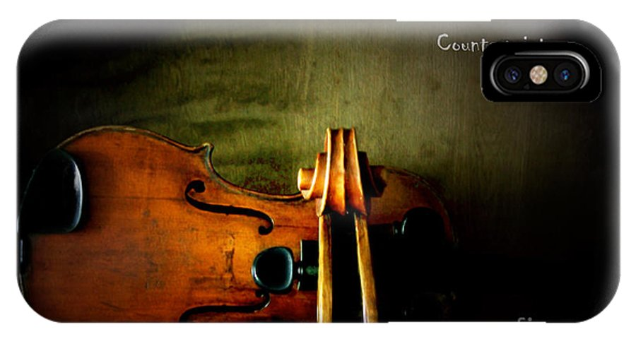 Violin IPhone Case featuring the photograph Counterpoint by Steven Digman