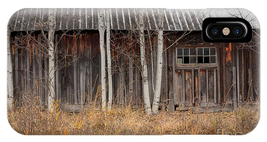 Barn IPhone X Case featuring the photograph Country Barn by Idaho Scenic Images Linda Lantzy