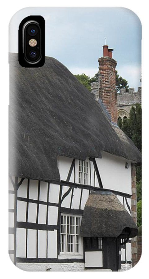 Pewsey Village And Civil Parish IPhone X / XS Case featuring the photograph Court House by David A James