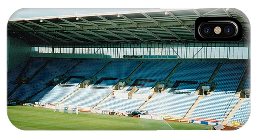 Coventry City IPhone X Case featuring the photograph Coventry City - Ricoh Arena - North Stand 1 - April 2006 by Legendary Football Grounds