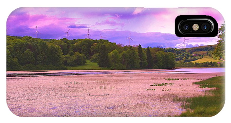 Scenic Cranberry Glade Lake Located In Lower Turkeyfoot Township IPhone X Case featuring the photograph Cranberry Glade Lake by Tammy McGogney