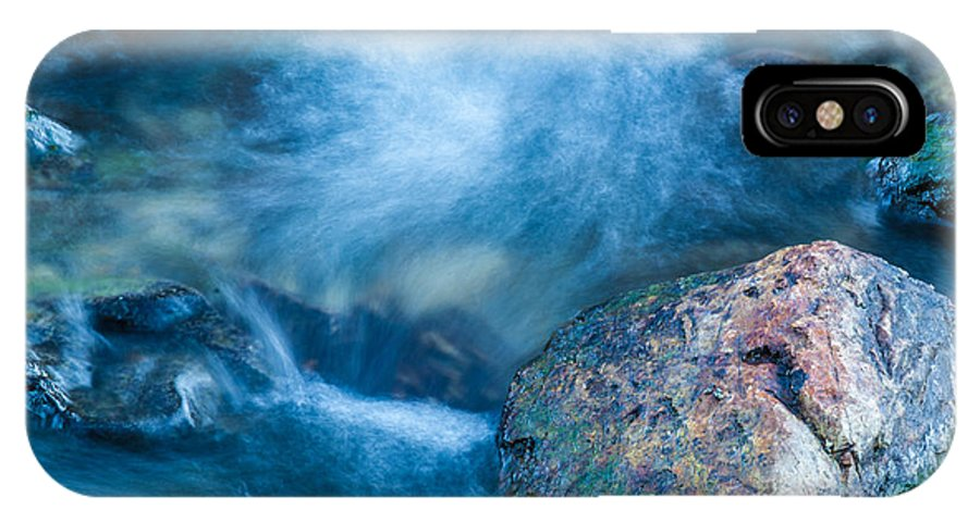 Water IPhone X Case featuring the photograph Crazy Water by Dennis Bolton
