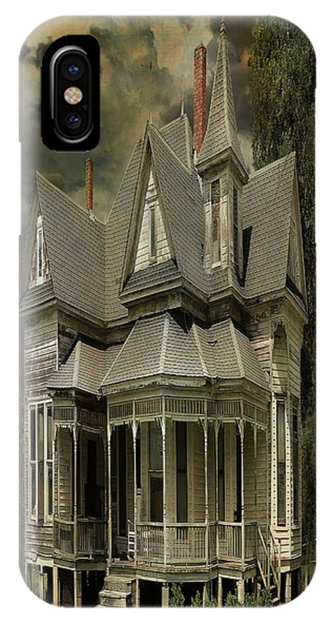 Architecture IPhone X Case featuring the photograph Crisp Home 2 by Sherry Adkins