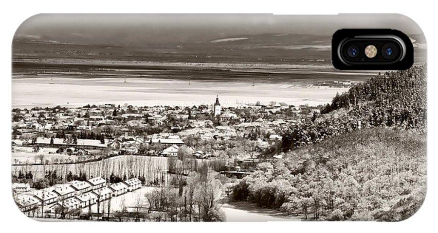 Cristian IPhone X Case featuring the photograph Cristian Village by Gabriela Insuratelu
