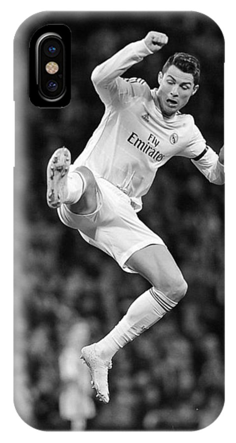 premium selection 049fb 9ebac Cristiano Ronaldo 35 IPhone X Case