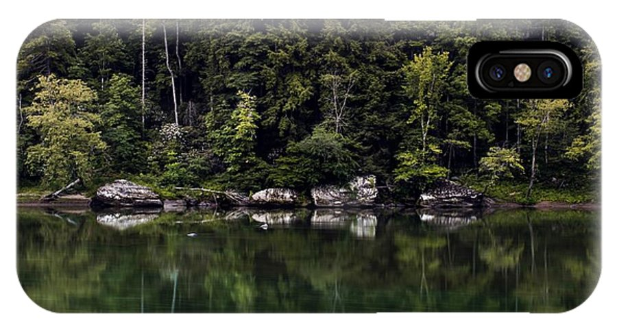 Cumberland River Kentucky Landscape IPhone X / XS Case featuring the photograph Cumberland River by Mark Stephens