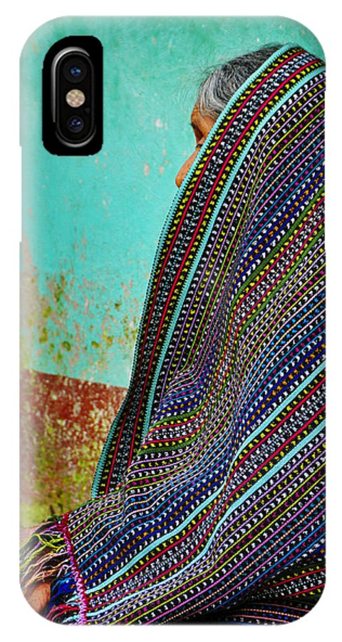 Skip Hunt IPhone X Case featuring the photograph Curandera by Skip Hunt