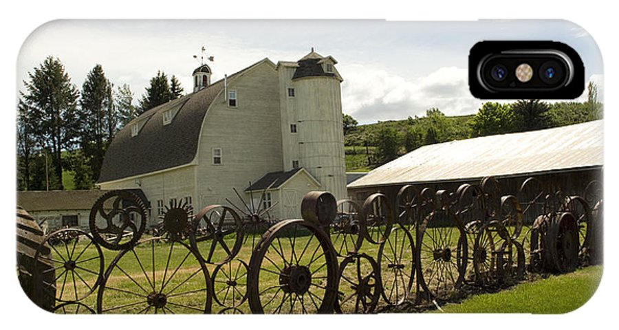 Historic Barn IPhone Case featuring the photograph Dahmen Barn by Louise Magno