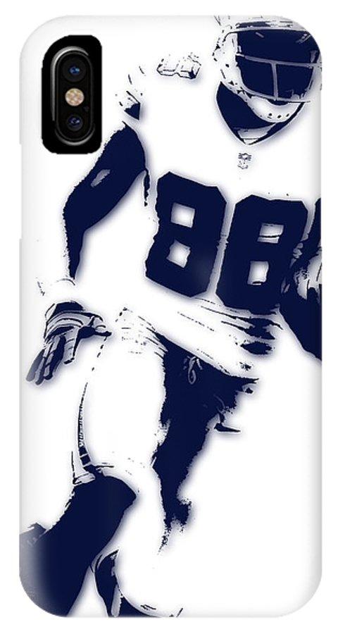 uk availability 55188 9cf08 Dallas Cowboys Dez Bryant IPhone X Case