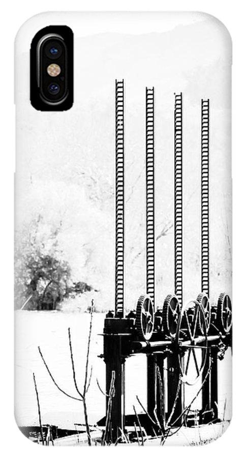 Agia IPhone X Case featuring the photograph Dam by Gabriela Insuratelu