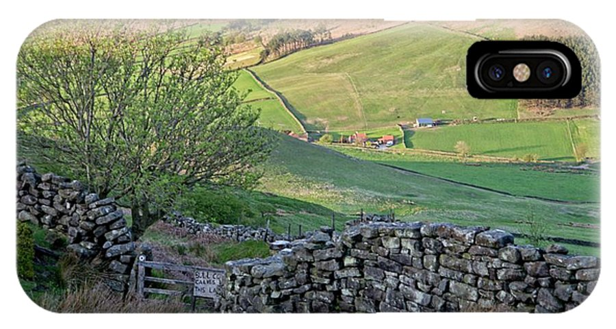Danby Yorkshire IPhone X / XS Case featuring the photograph Danby Dale Countryside by Martyn Arnold