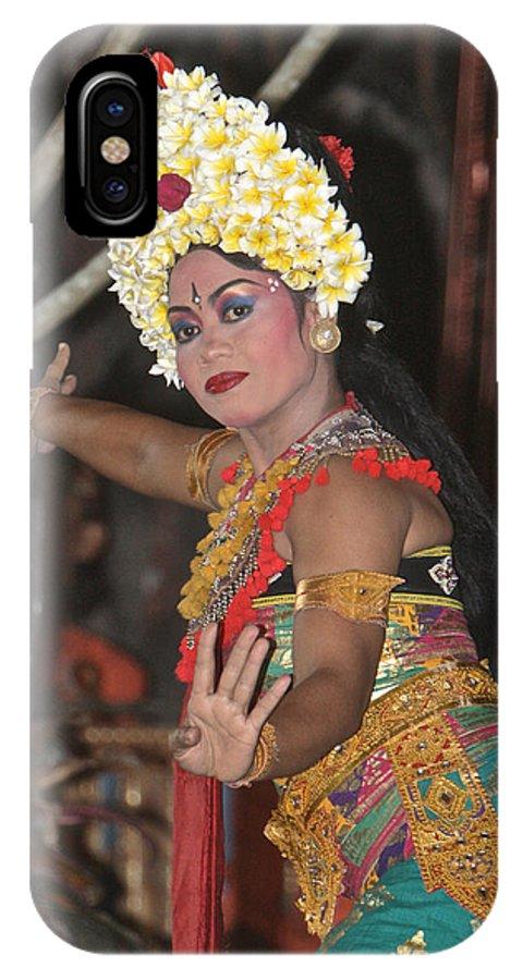 Dancer IPhone X Case featuring the photograph Dancer by Gary Bridger