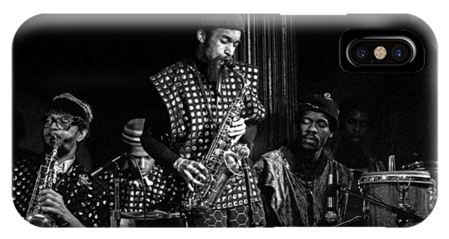 Jazz IPhone Case featuring the photograph Danny Davis With Sun Ra Arkestra by Lee Santa