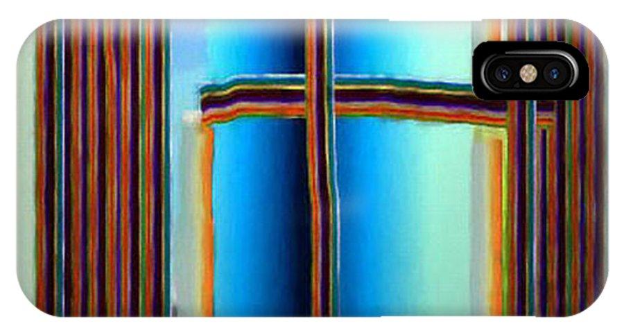 Digital IPhone Case featuring the digital art Das Fenster by Ilona Burchard