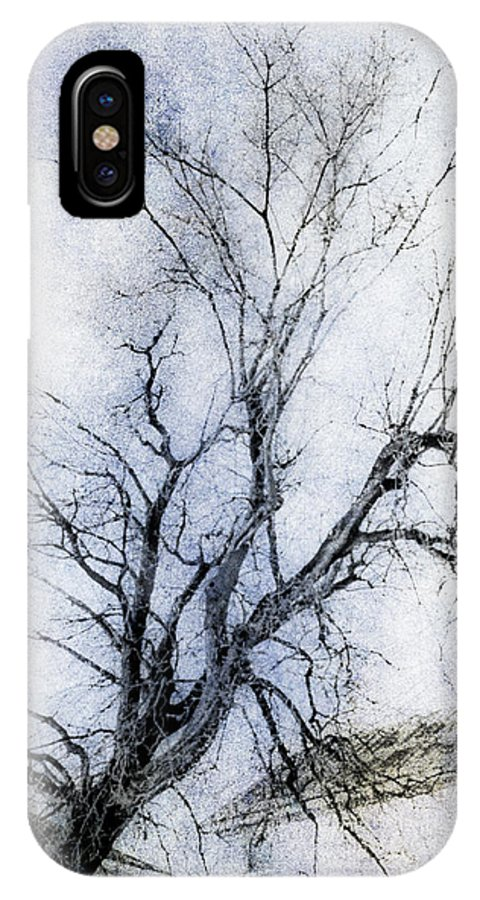 Daunting IPhone X Case featuring the digital art Daunting by Celso Bressan