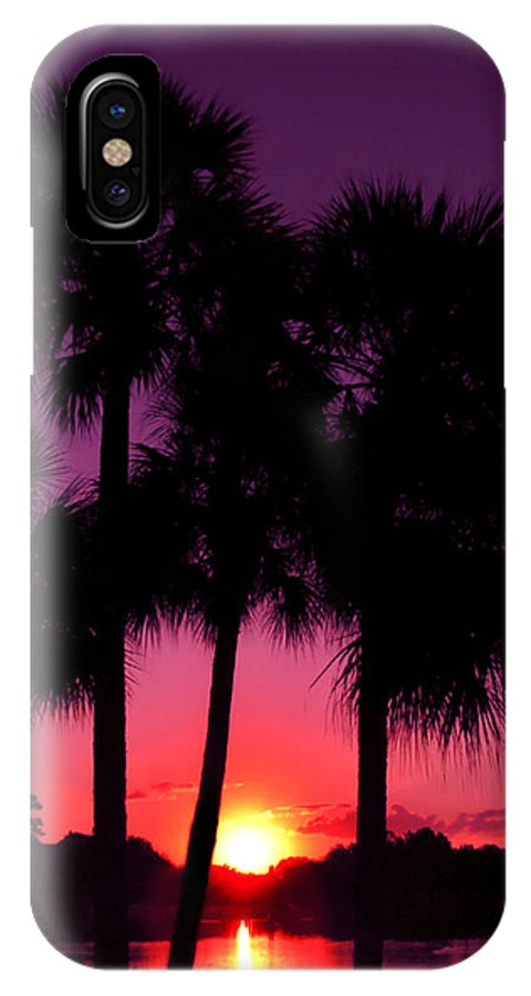 Sunrise IPhone X Case featuring the photograph Dawn Of Another Perfect Day by Kenneth Krolikowski