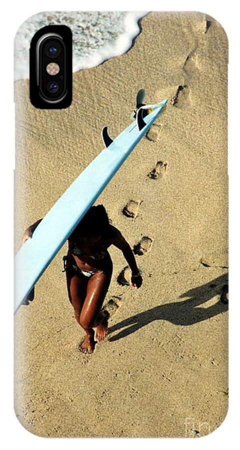 Hawaii IPhone X Case featuring the photograph Dawn Patrol by DJ Florek