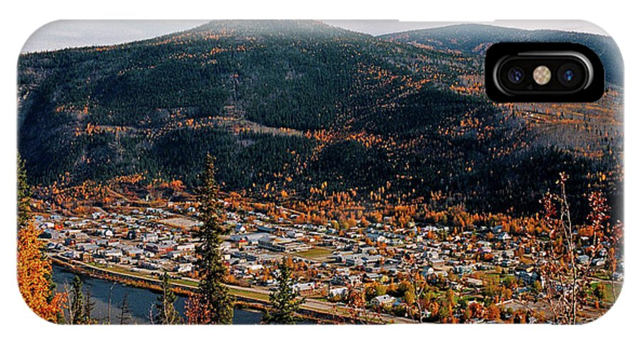 Canada IPhone X Case featuring the photograph Dawson City - Yukon by Juergen Weiss