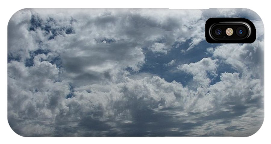 Clouds IPhone X Case featuring the photograph Daydreaming by Shari Chavira