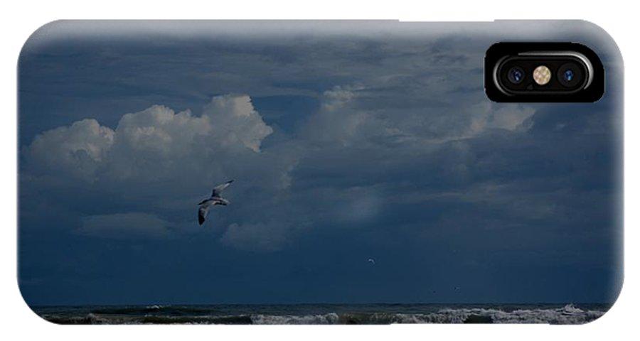 Daytona Beach IPhone X Case featuring the digital art Daytona Beach Kind Of Day by David Lane