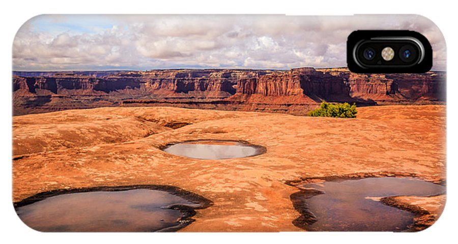 Landscape IPhone X Case featuring the photograph Dead Horse Pools by Gina Herbert