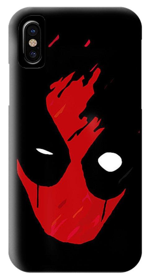 timeless design 49b0b 8c753 Deadpool IPhone X Case