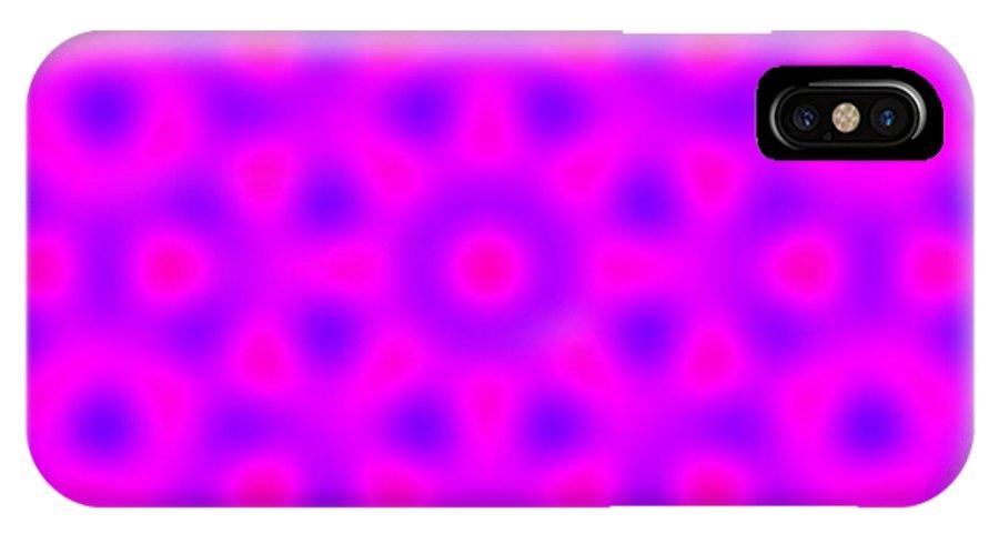 Algorithmicart IPhone X Case featuring the digital art Dear5001 by Gianluigi Solbiati