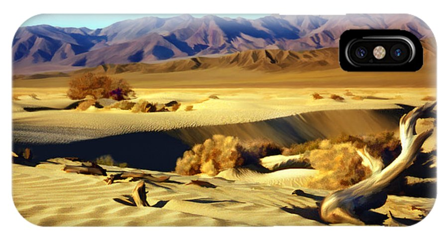 Death Valley IPhone X Case featuring the photograph Death Valley by Kurt Van Wagner