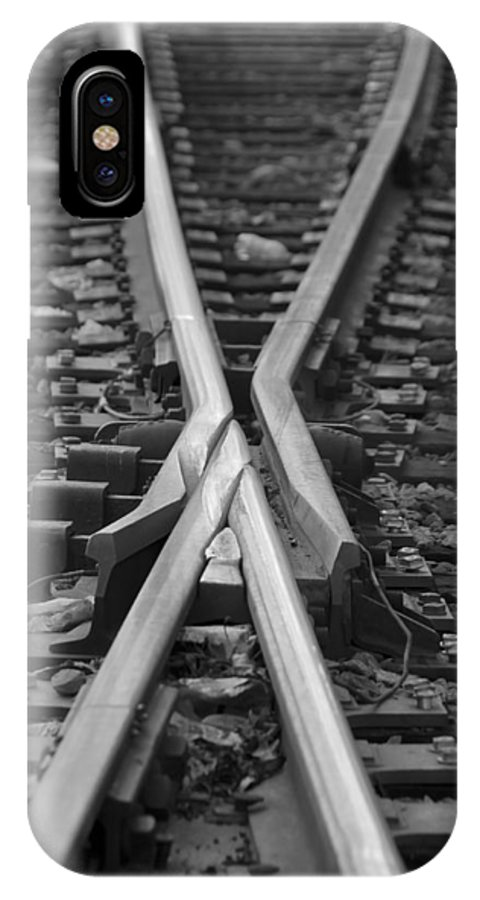 Tracks IPhone Case featuring the photograph Decisions by Kelvin Booker