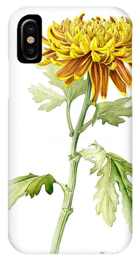 Deco Mum IPhone Case featuring the painting Deco Mum by Fran Henig