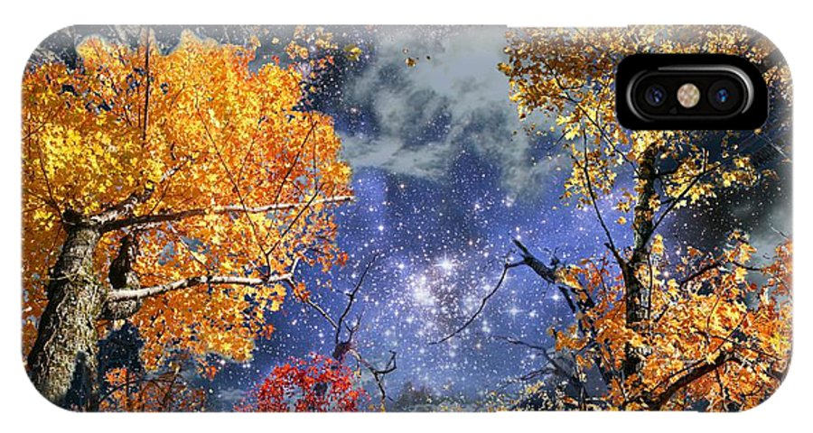 Deep Space IPhone Case featuring the photograph Deep Canopy by Dave Martsolf