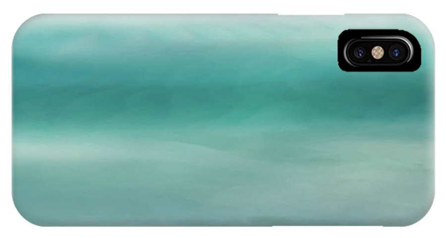 Whitehaven Beach IPhone X Case featuring the photograph Deep Channel by Az Jackson