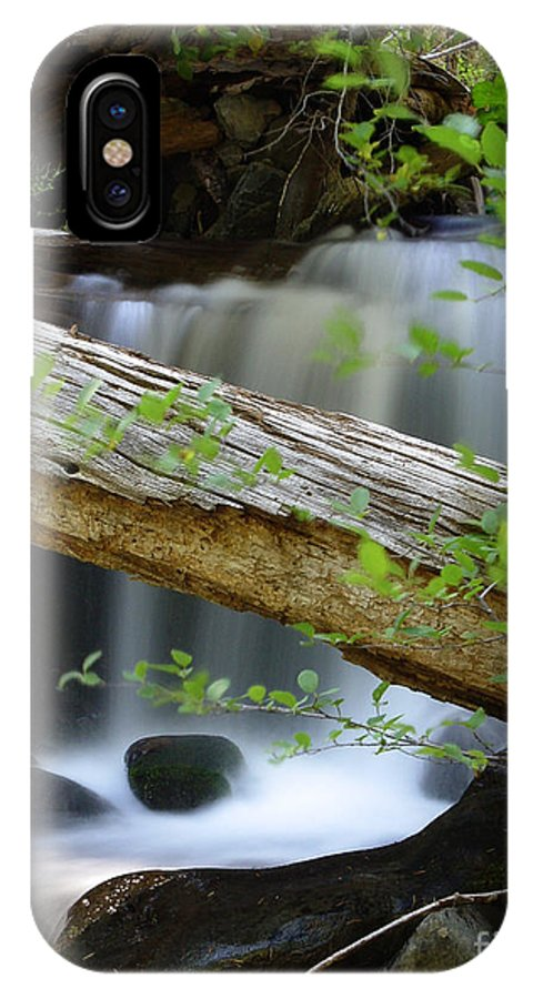 Creek IPhone X Case featuring the photograph Deer Creek 13 by Peter Piatt
