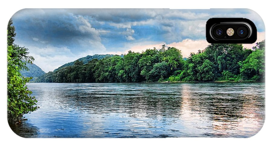 Delaware River IPhone X Case featuring the photograph Delaware River by Michael Dorn