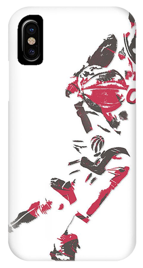 new concept 8b161 08ad5 Demar Derozan Toronto Raptors Pixel Art 5 IPhone X Case