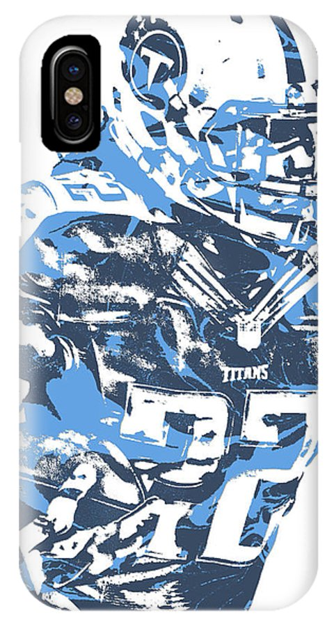 65f48c23 Derrick Henry Tennessee Titans Pixel Art 14 IPhone X Case