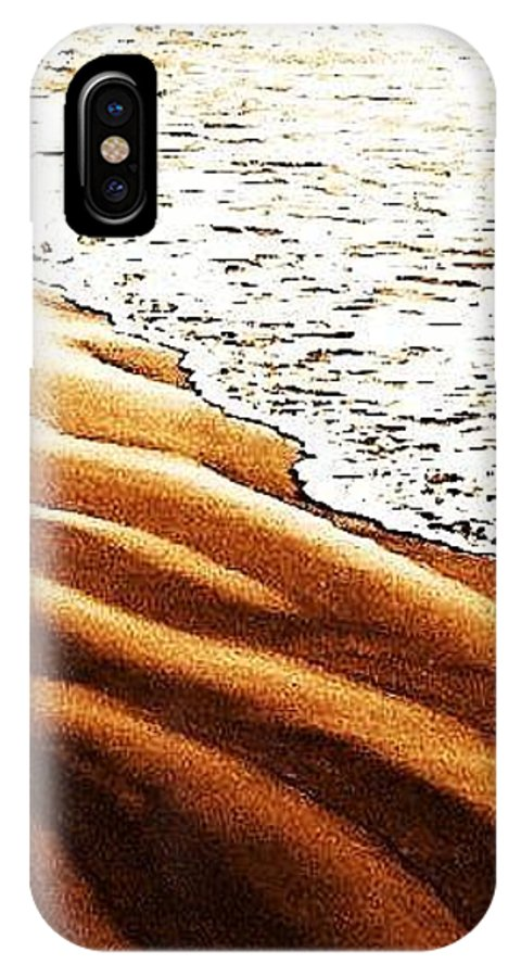 Ocean IPhone X Case featuring the photograph Desert Water by Daniele Smith