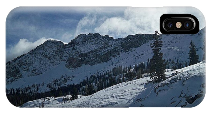 Ski IPhone Case featuring the photograph Devils Castle Morning Light by Michael Cuozzo
