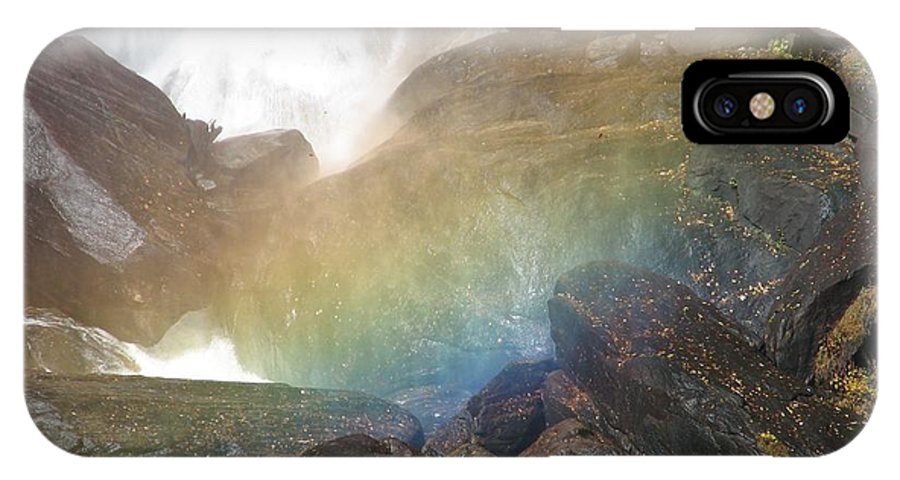 Devil's Fork IPhone Case featuring the photograph Devil's Rainbow by Kelly Mezzapelle
