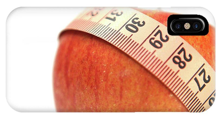 Diet IPhone X Case featuring the photograph Diet Concep by Yedidya yos mizrachi