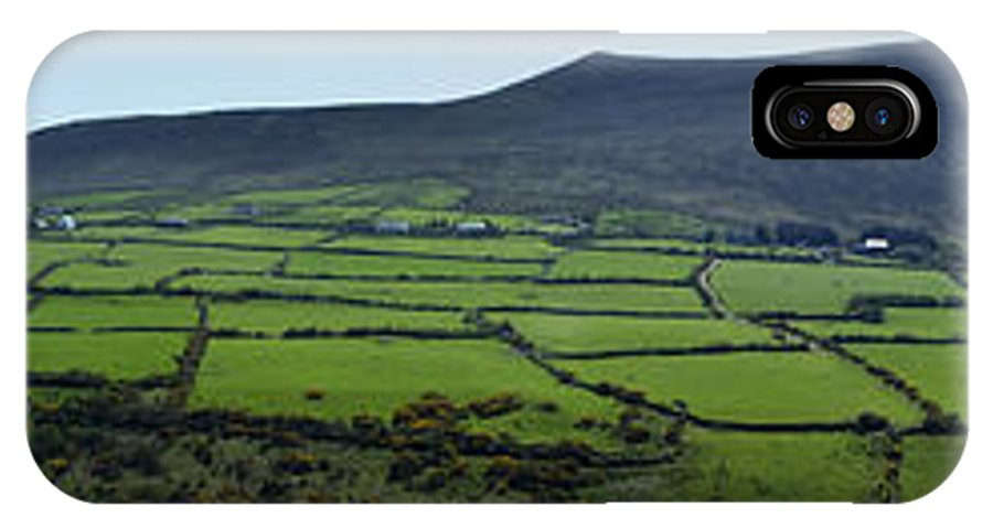 Irish IPhone X Case featuring the photograph Dingle Peninsula Panorama Ireland by Teresa Mucha