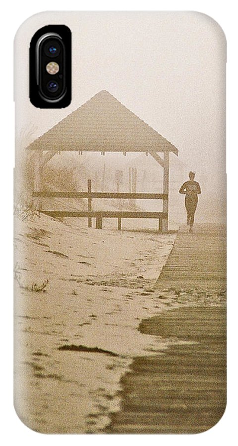 Landscape IPhone Case featuring the photograph Disappearance by Steve Karol