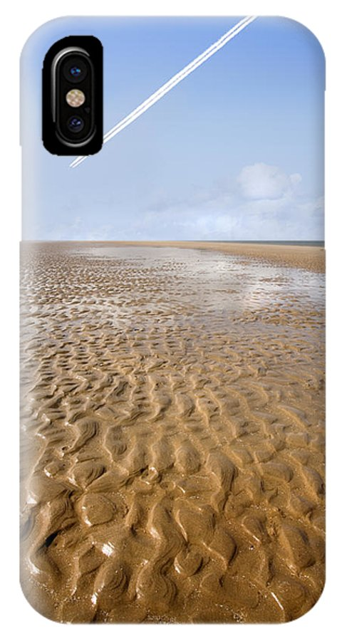 Travel IPhone X Case featuring the photograph Distant Horizon by Mal Bray