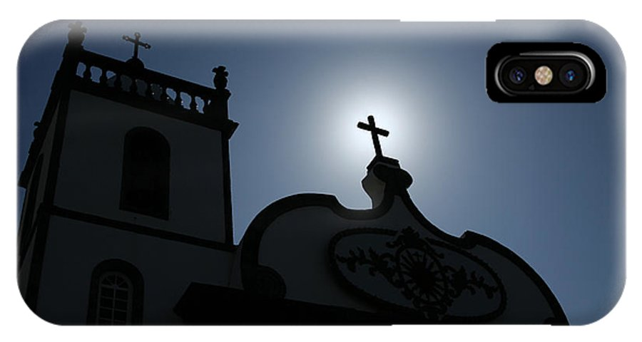Belief IPhone Case featuring the photograph Divine Light by Gaspar Avila