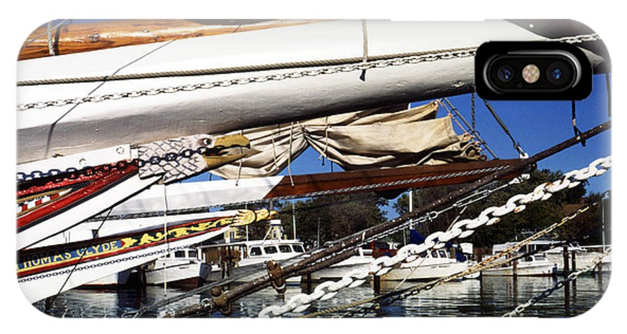 Skipjacks IPhone X Case featuring the photograph Dogwood Harbor by Thomas R Fletcher