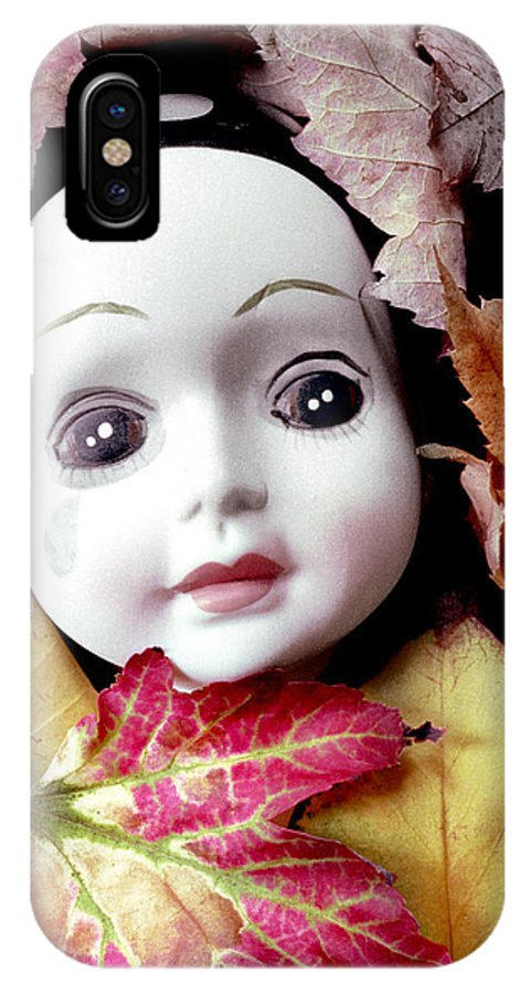 Doll IPhone X Case featuring the photograph Doll by Andre Giovina